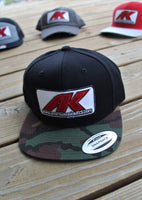 Andrew Kosiski Full Panel Camo Hat