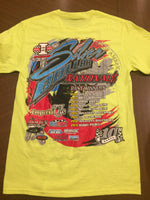 2020 Silver Dollar Nationals Neon Yellow Tee