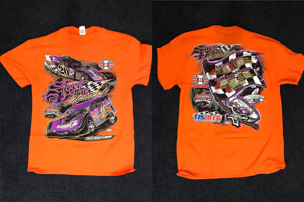 Silver Dollar Nationals 2018 Orange T-Shirt