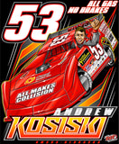 "Andrew Kosiski ""All Gas, No Brakes"" T-shirt"