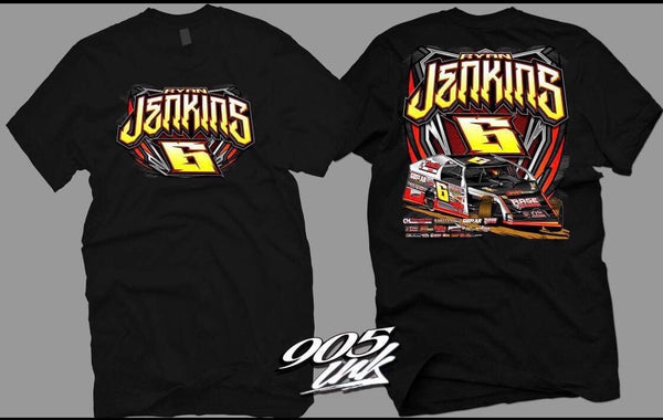 Ryan Jenkins 2017 Black T-Shirt