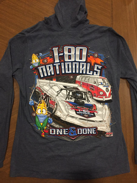 I-80 Nationals Women's Hooded Long Sleeve T-shirt