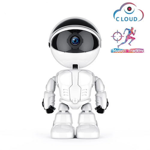 Wireless Robot camera  1080P Camera Robot Intelligent Auto Tracking Camera indoor security cam