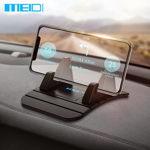 Car Dashboard Non-slip Mat Rubber Mount Phone Holder Pad Mobile Phone Stand Bracket