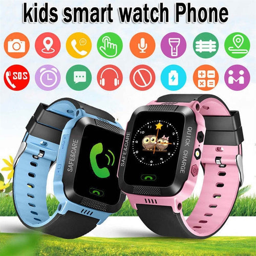Child Smart Watch with GPS GSM Locator Touch Screen Family phone tracker