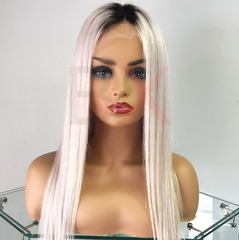 FULL LACE MINK WIG - ICE
