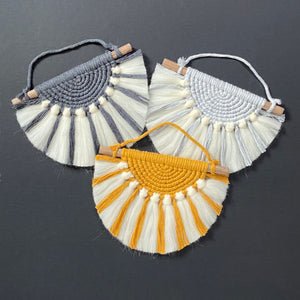Kid's sun ray wall hanging - Mara studio