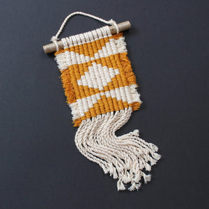 Geometric wall hanging - Mara studio