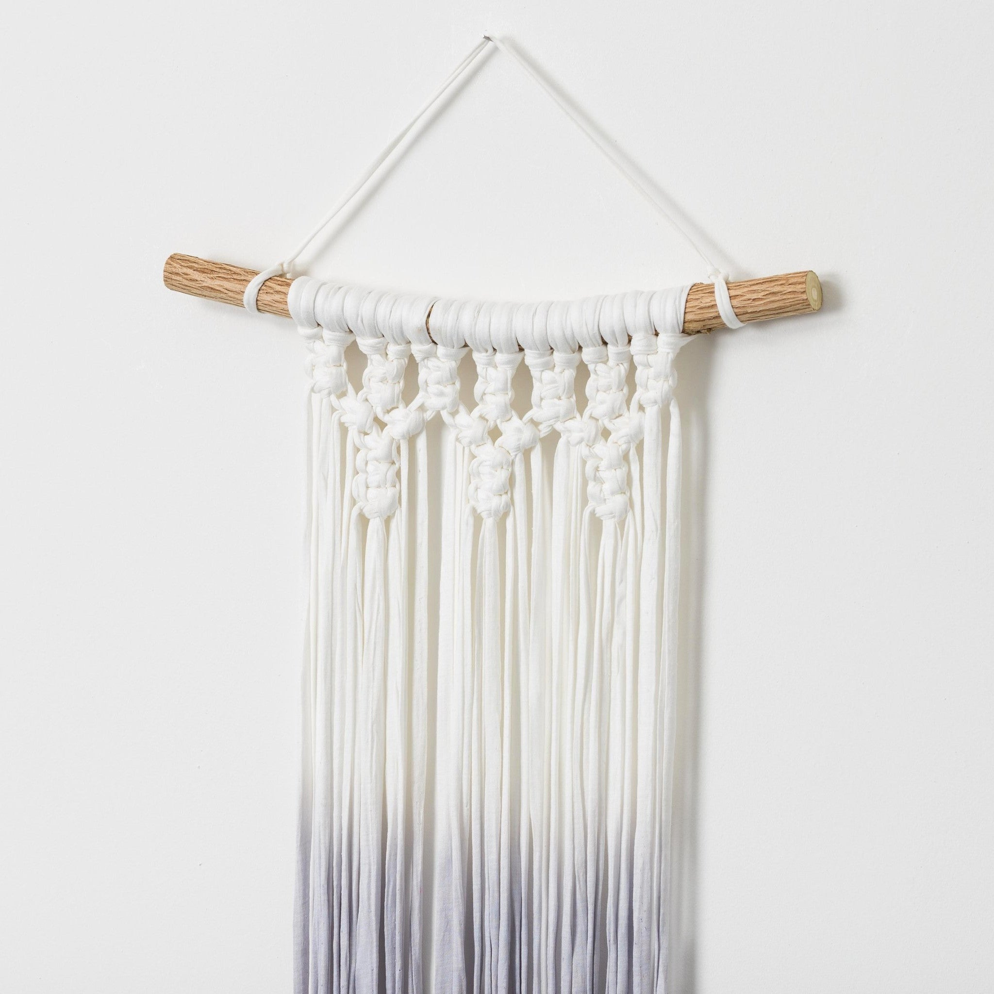 Ombre grey wall hanging - Mara studio