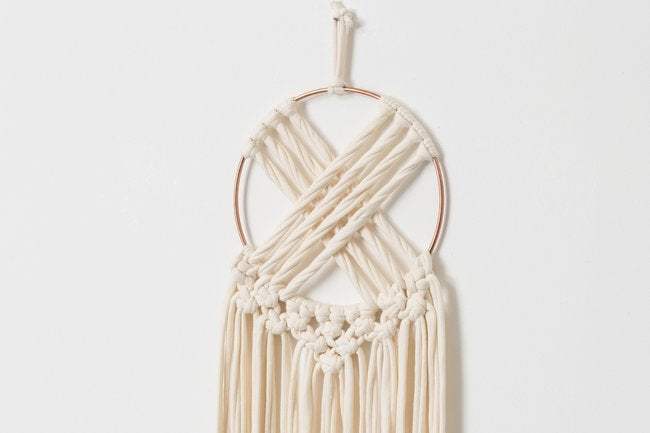 Macrame dreamcatcher wall hanging - Mara studio