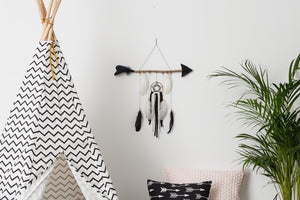 Kid's feather arrow wall hanging - Mara studio