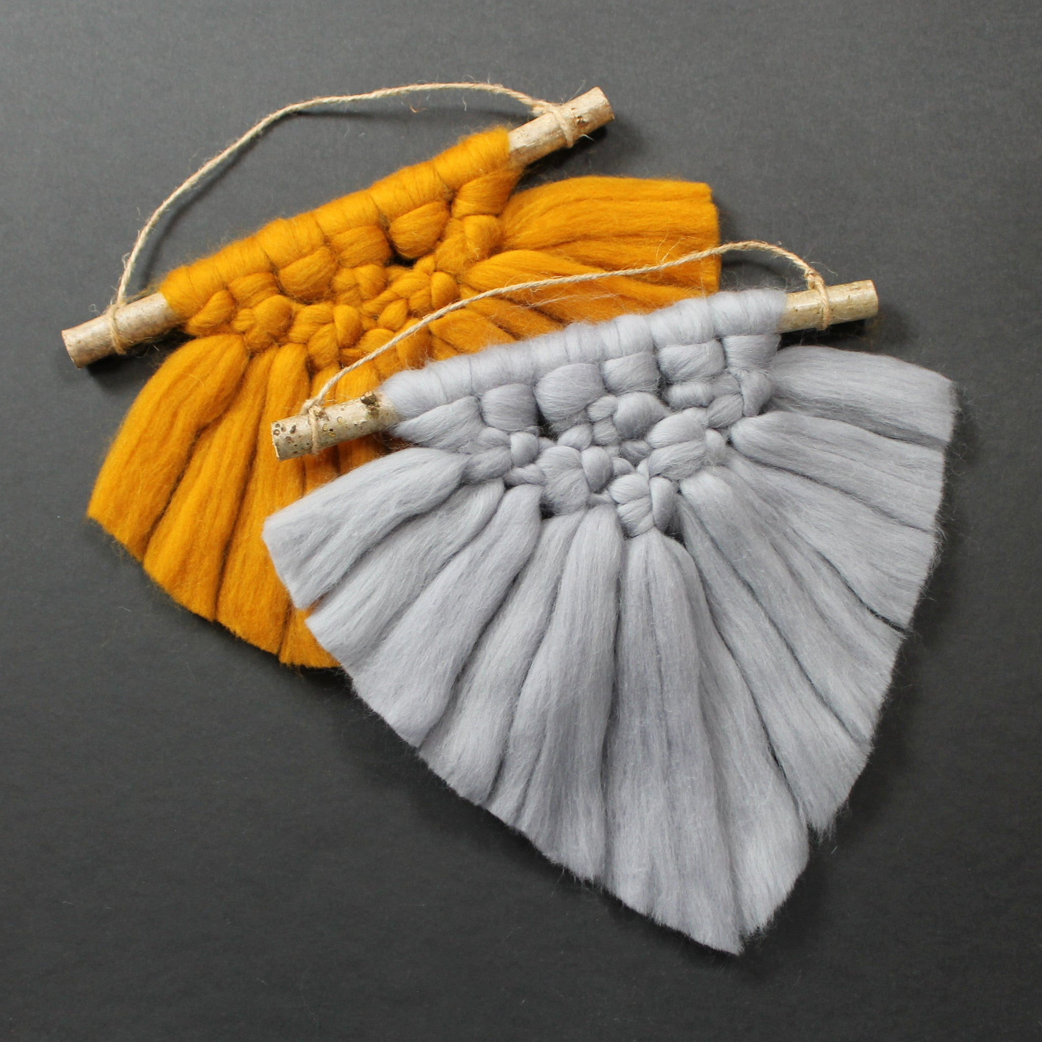 Merino wool wall hanging - Mara studio