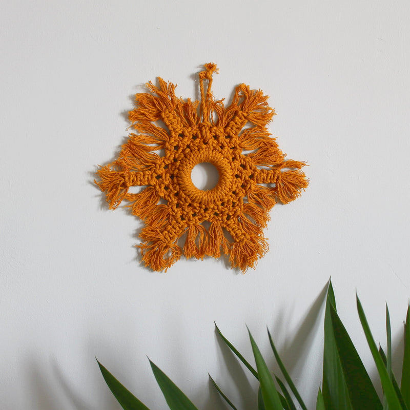 Macrame wreath - Mara studio