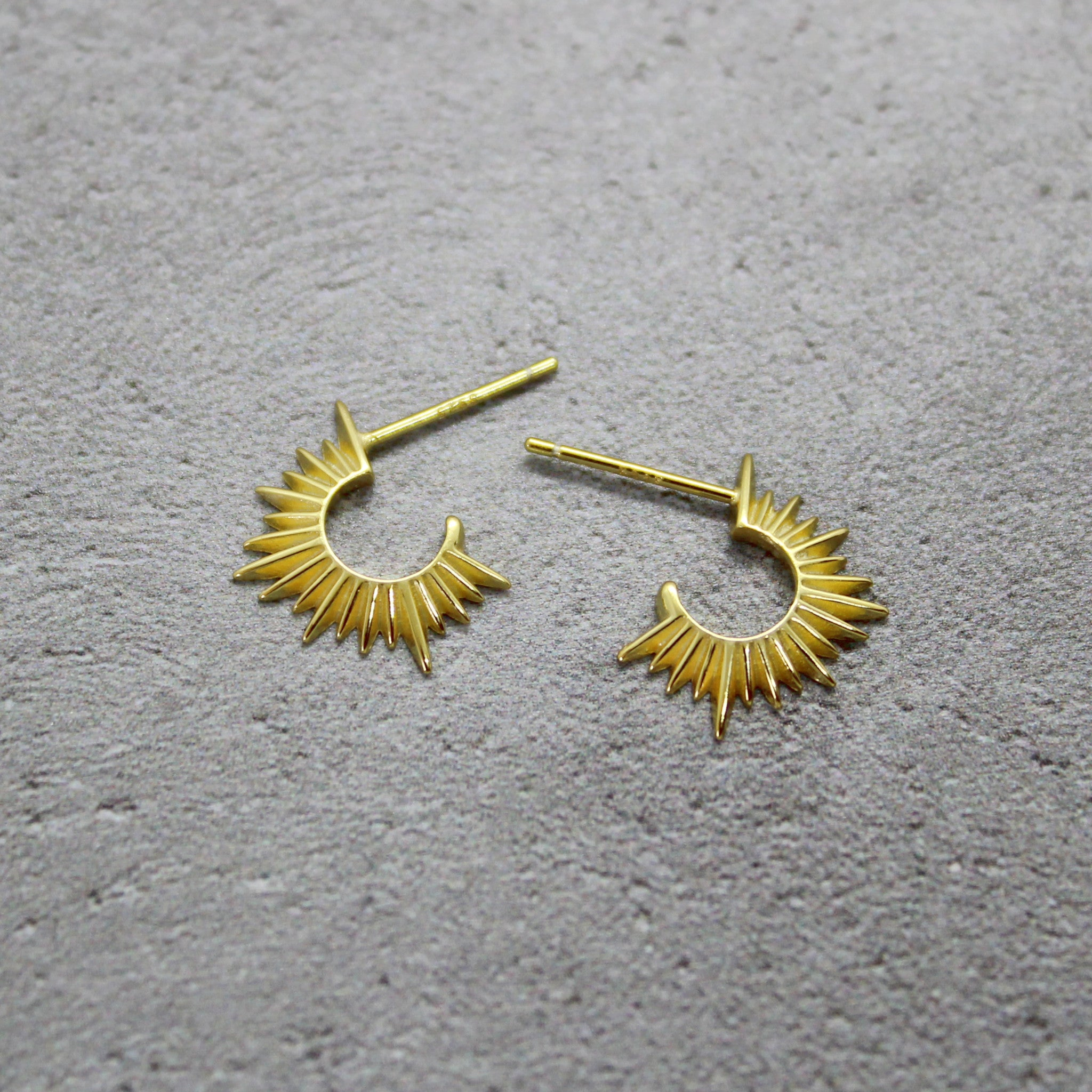 Sunray earrings - Mara studio