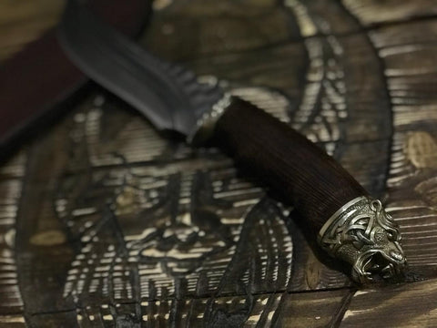 Premium Viking Hunting Knife
