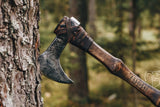 Traditional Viking Battle Axe