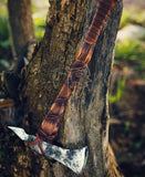 Viking Throwing Axe + Sheath