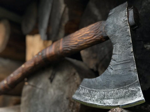 Large Viking Axe
