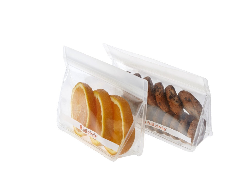Full Circle Reuseable Snack Bags 2 Piece 400ml
