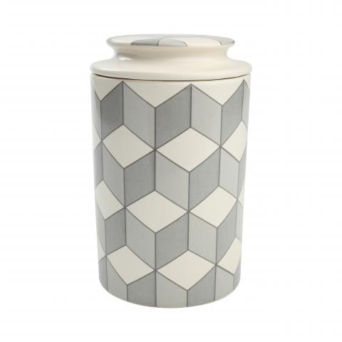 City Cube Large Storage Jar