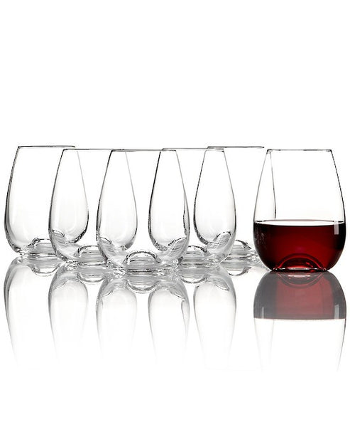 Lenox Tuscany Stemless Wine Set of 6