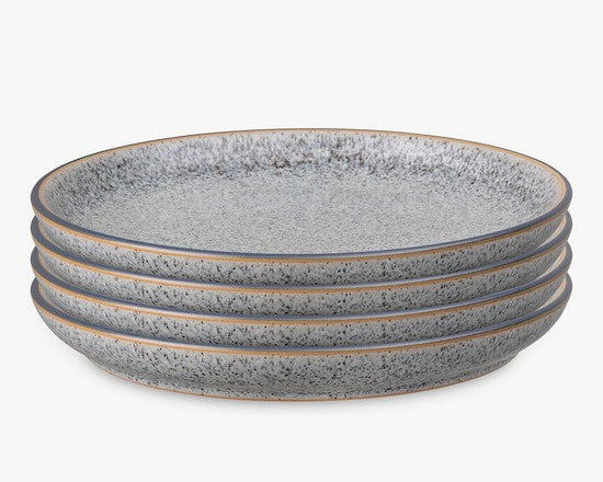 Denby Studio Grey Dinner Plate 26cm 4 piece Set