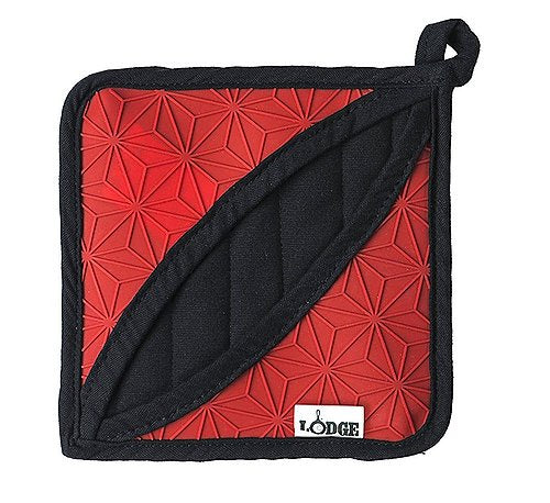 Lodge Silicone Trivet Pot Holder Red