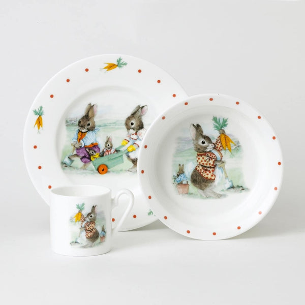 Roy Kirkham Bunnies Children's Gift Set 3 Piece