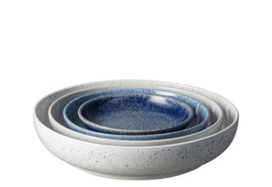 Denby Studio Blue Nesting Bowl Set 4 piece