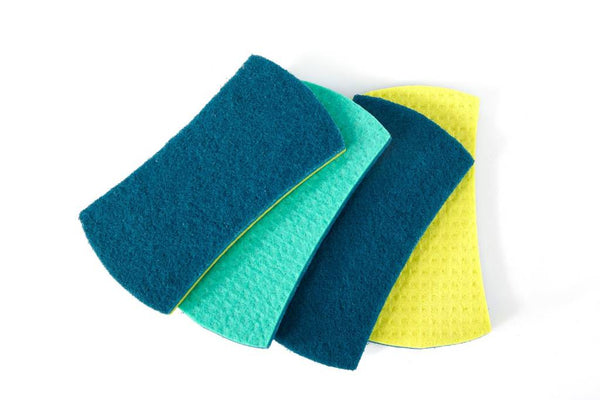 Full Circle Stretch Counter Scrubbers Set of 4