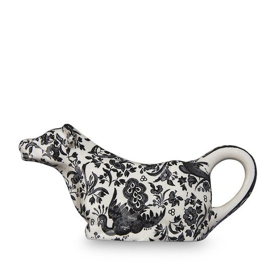 Burleigh Regal Peacock Cow Creamer 150ml