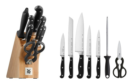 WMF Spitzenklasse Knife Block Bamboo 8 piece Set