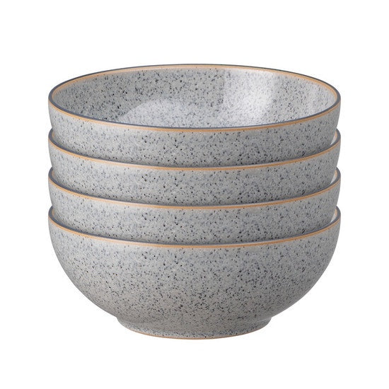 Denby Studio Grey Cereal Bowl 4 piece Set
