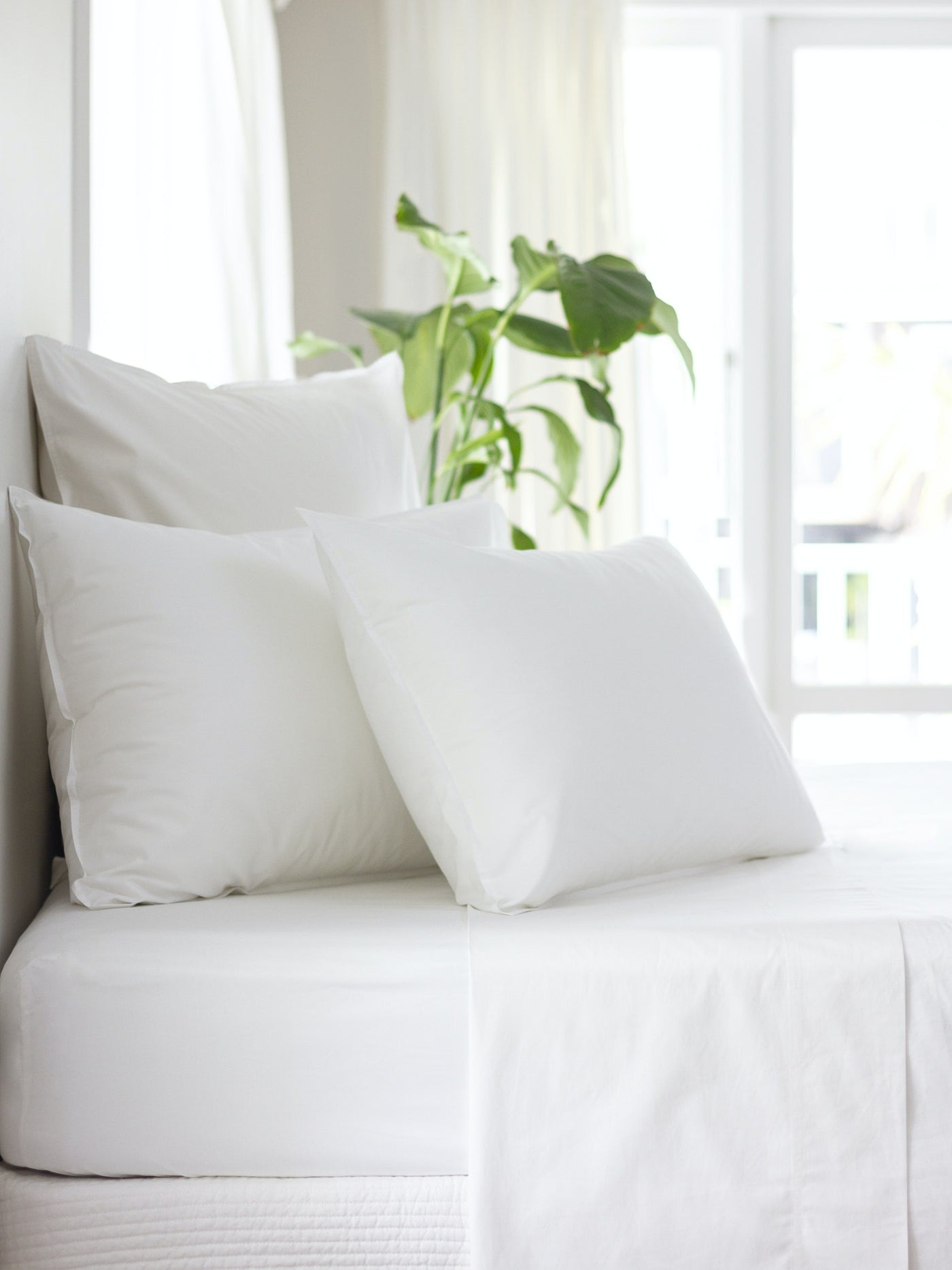 Purity Organic Cotton Sheet Set White