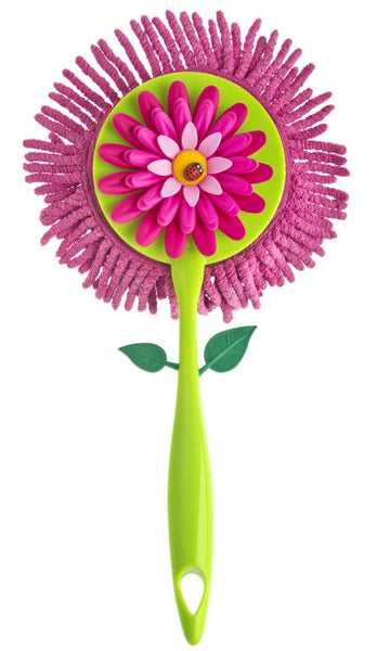 Flower Round Microfibre Duster