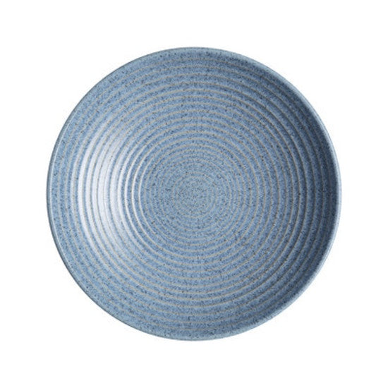 Denby Studio Blue Medium Ridged Bowl