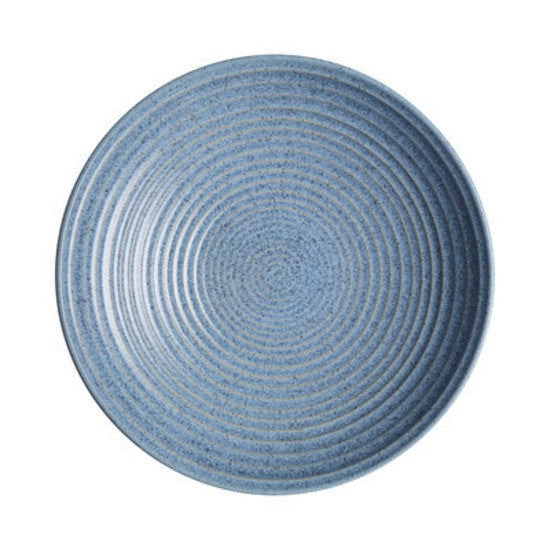 Denby Studio Blue Large Ridge Bowl 31cm