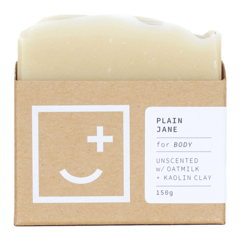 Fair + Square Plain Jane Natural Body Wash