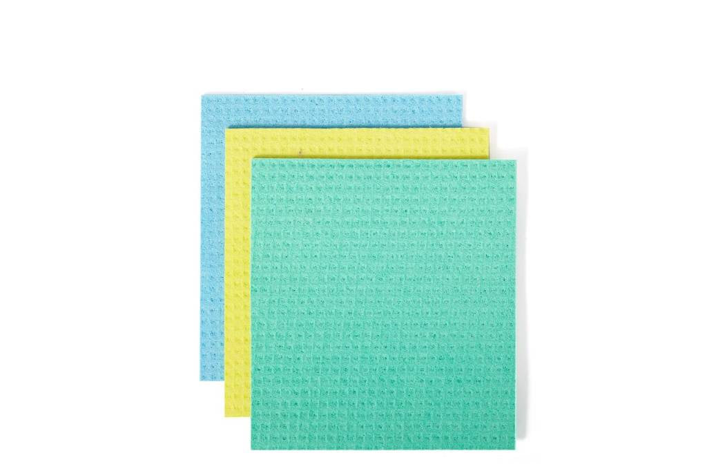Full Circle Squeeze Cellulose Sponge Cloth Set of 3