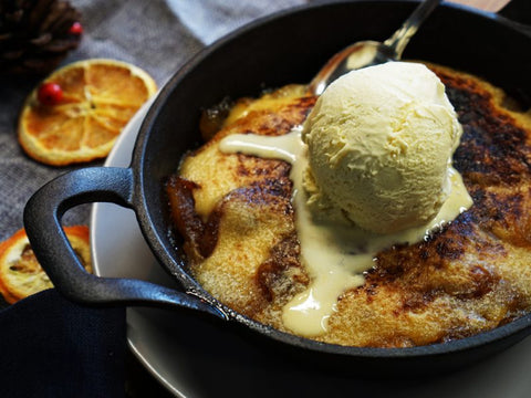 Grilled Apple Dessert