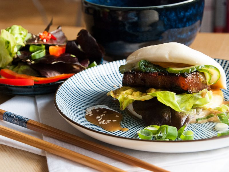 Otto's East-Asian Pork Belly Bun