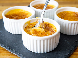 Grilled Dessert: Crème Brûlée Finished On The Otto Grill