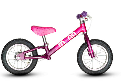 Debunking the myth about balance bike frame shape