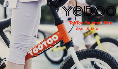 Yedoo TooToo OPPS Collection Carrot Juice by Tikes Bikes