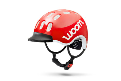 Woom kids Helmet in Red