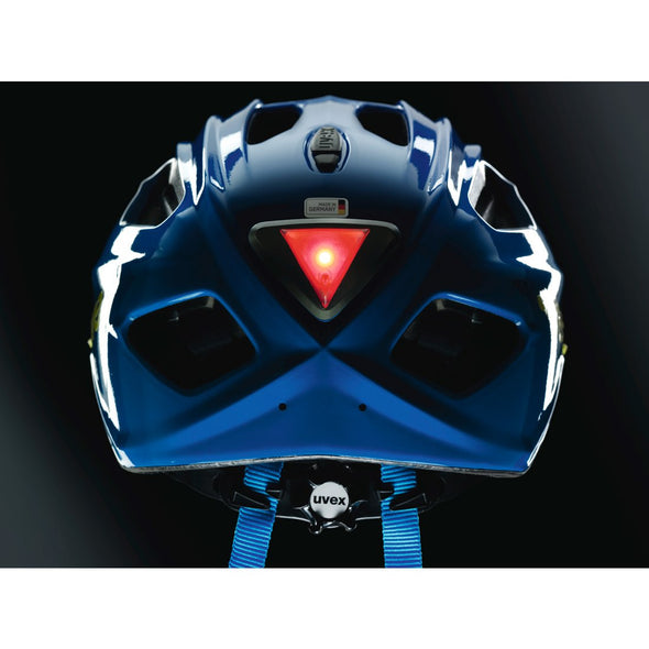 UVEX SPORTS Red Triangle LED Helmet Light (Fits Quatro Junior)