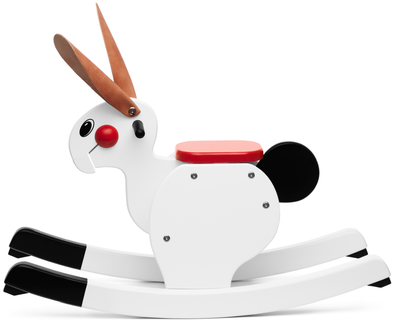 Playsam Swedish Wood Rocking Rabbit