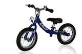 KinderBike Mini Trainer Balance Bike - Blue - Tikes Bikes - 1