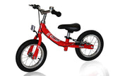 KinderBike Mini Trainer Balance Bike - Red - Tikes Bikes - 2