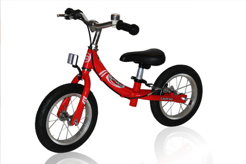 KinderBike Laufrad Trainer Balance Bike - Red - Tikes Bikes - 2